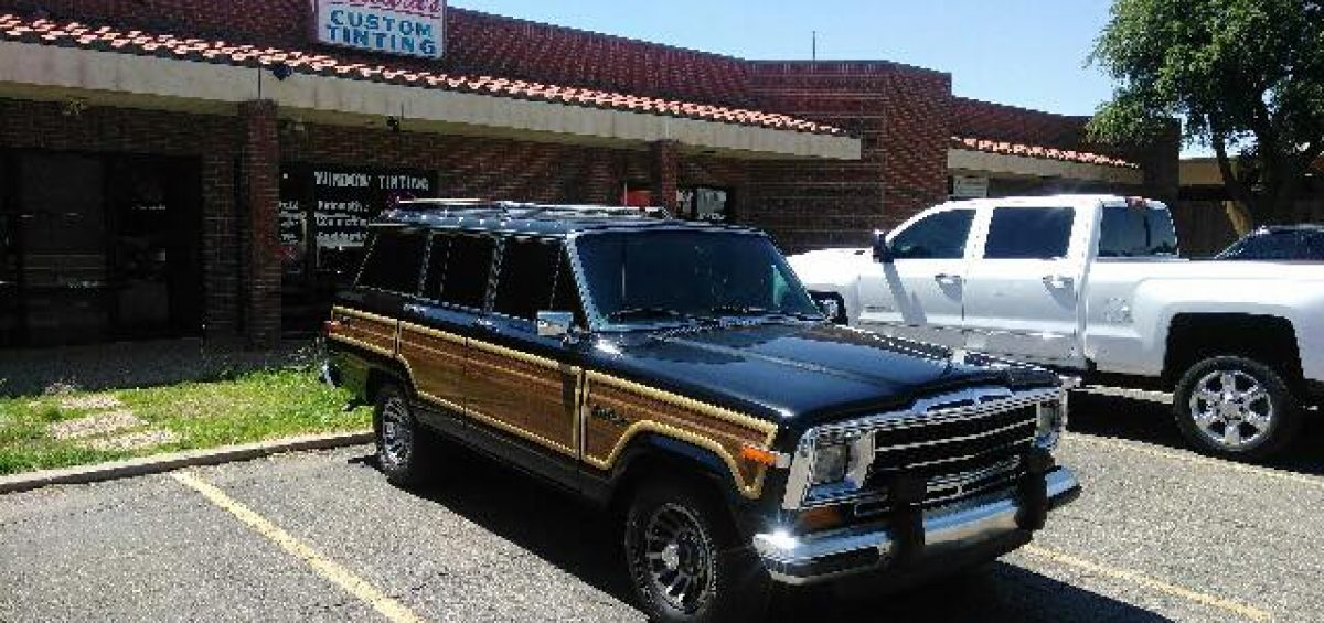 89 Jeep Wagoneer window tint
