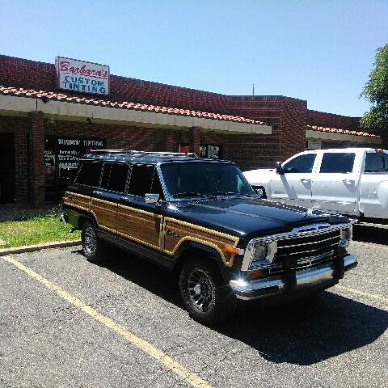 89 Jeep Wagoneer window tint