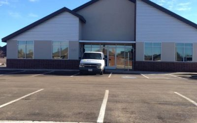 Commercial Building window tint